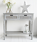 British Colonial Furniture Range - Large Console Table