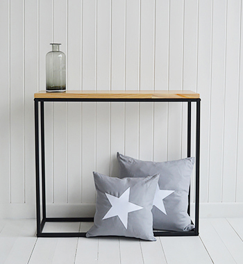 The White Lighthouse The Brooklyn Narrow Console Table for Hallway furniture and living room interiors
