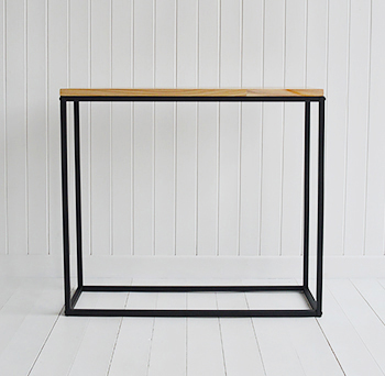 The Brooklyn Console Table for Hall furniture and living room interiors