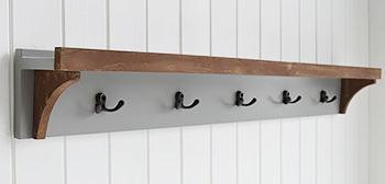 Brunswick Grey Hallway furniture coat hooks