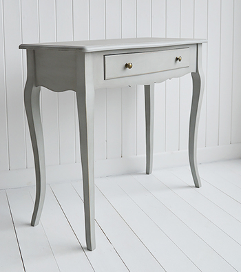 Grey Hall furniture, New Hampshire console table
