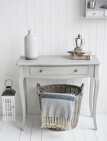 The White Lighthouse hallway furniture, grey hall table