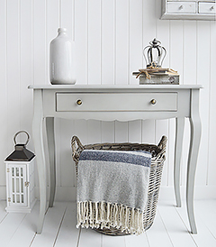 New Hampshire Grey Dressing Table with large Drawer