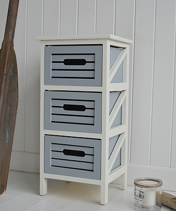 Beach House 3 drawer storage
