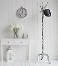 Chrome Bentwood Coat Stand