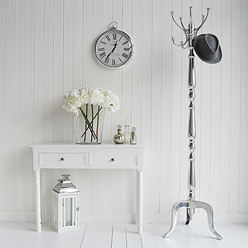 Luxurious silver Bentwood Coat Stand to hang coats