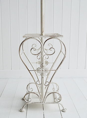 Antique white hallway furniture