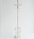 Stamford Antique white coat stand and umbrella rack for hall furnituer