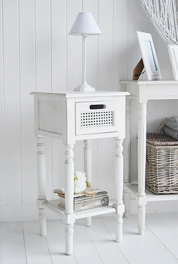 Colonial white furniture