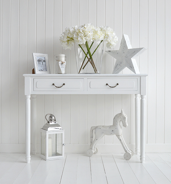 Console Table White Provence The White Lighthouse For