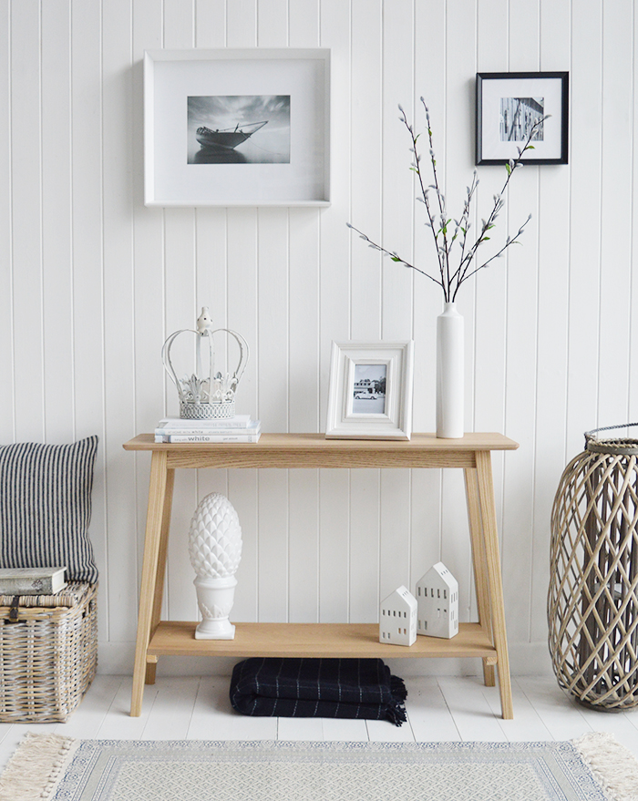 Hallway Furniture And Decorating Ideas Pictures The White Lighthouse Hall Furniture Uk