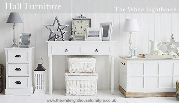 The White Lighthouse Hallway Furniture for small halls and storage solutions