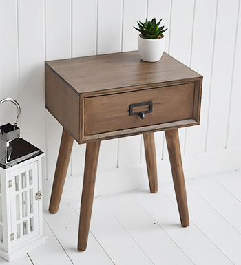 Scandi Lamp table, for hallway and living room furniture to give a contemporary look to the interior