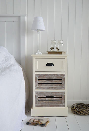 Cream Bedside Tables: Norfolk Cream Lamp Table For Hall And Living Room Furniture