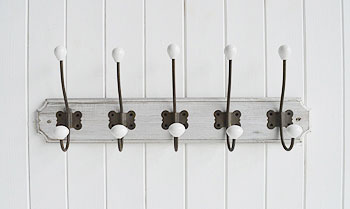 Parisian coat rack for coat storage in the hallway