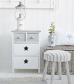 Plymouth grey and white New England Furniture
