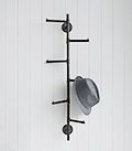 Portsmouth coat rack with 6 hooks for small hall furniture