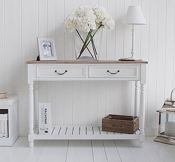 Brittany Console Table console table White hall furniture