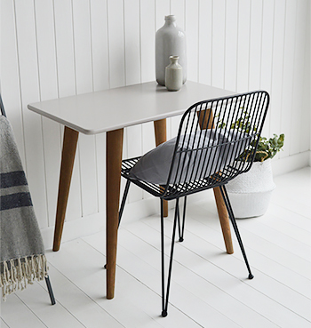 Rhode Island Grey Desk Table and chair