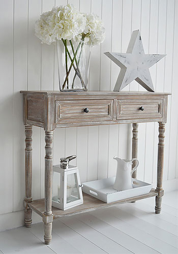 Richmond Furniture Range Console Table With Drawers From