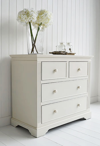 Rockport Ivory Chest Of Drawers From The White Lighthouse