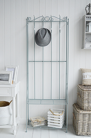 St Malo Grey Coat Rack hallway furniture