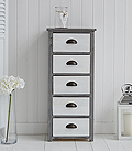 Vermont tallboy chest of drawers