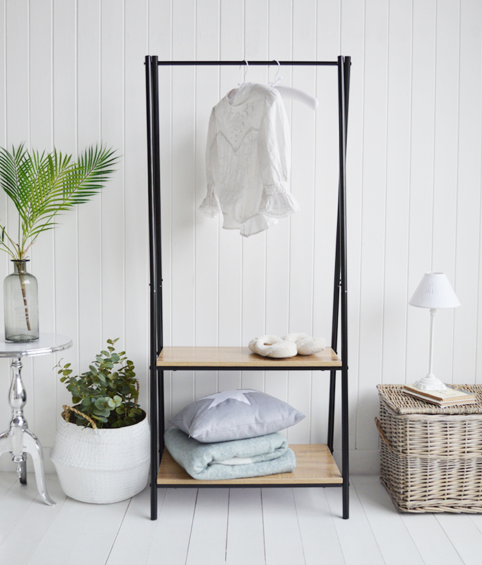 Woodstock Clothes rail from The White Lighthouse Furniture