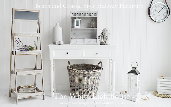 Hallway furniture for coastal homes by the sea