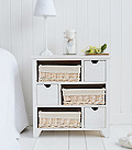 Cape Cod Large bedside cabinet with 6 drawers
