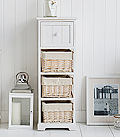 Cape Cod narrow chest drawers