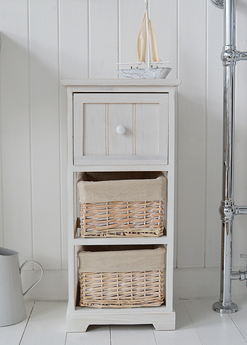 Cape Cod Bathroom Furniture with boat