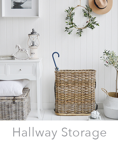 Hallway Storage Furniture. Perfect for small halls and entry ways