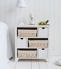 Cape Cod Large chest with 6 drawers
