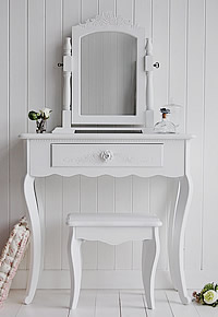 The White Peony Dressing Table