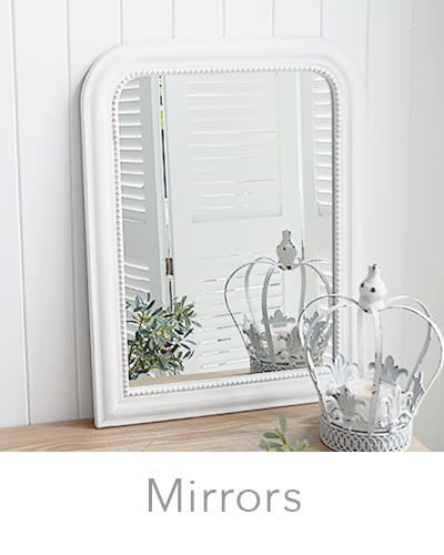 White wall and Dressing table mirrors