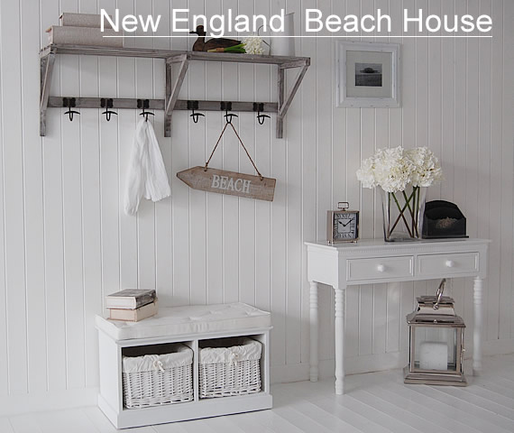 White New England Furniture The White Lighthouse