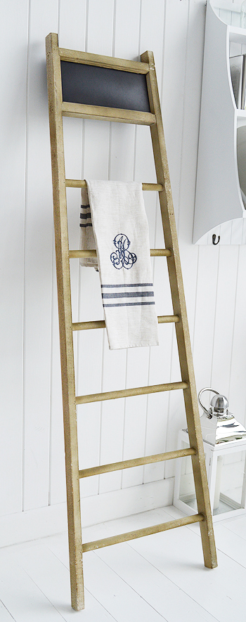 kitchen towel ladder for tea towels