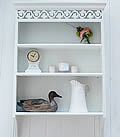 Large White Wall Shelf