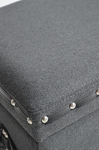 Berkeley Grey Storage Trunk For Bedroom, Hall And Living Room   Hallway  Shoe Storage