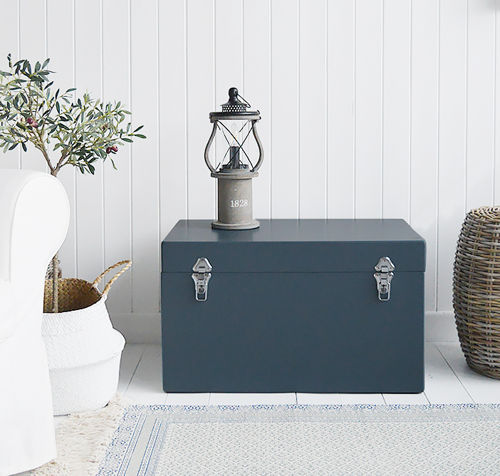 The Newbury set of 2 storage trunks at £79 come in both sqaure and rectange making perfect living room furniture as lamp tables and coffee tables with masses of storage