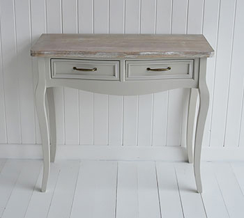 Bridgeport grey vanity table for bedroom furniture