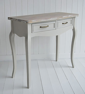 Bridgeport grey dressing table for bedroom