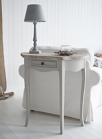 Bridgeport Grey console tables