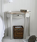 Bridgeport Gre bedside table