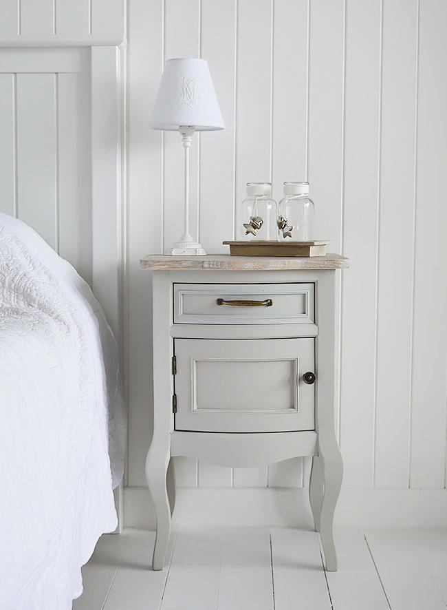 Grey furniture for bedroom