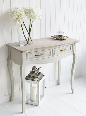 Bridgeport Grey Soaf Console Table Living Hall And