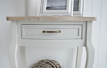 Bridgeport Small Grey Dressing Table The White