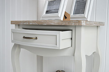 Bridgeport console table in grey