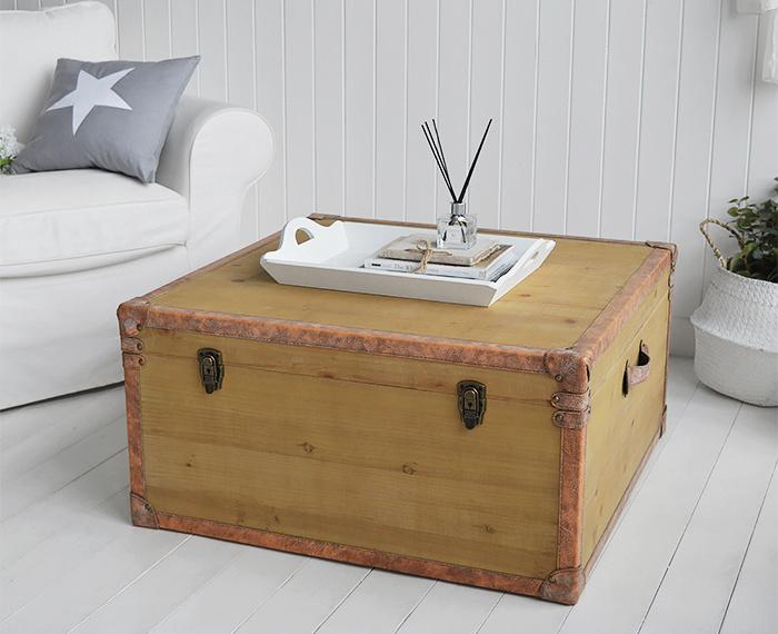 Harvard Large storage coffee table